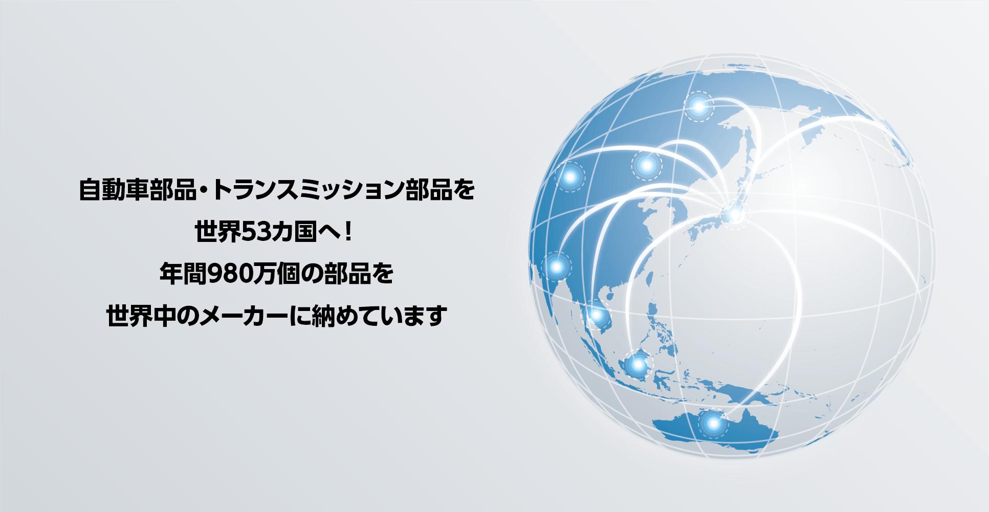 世界への納品